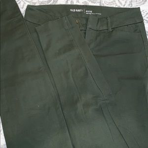 Green Old Navy Pixie Pants
